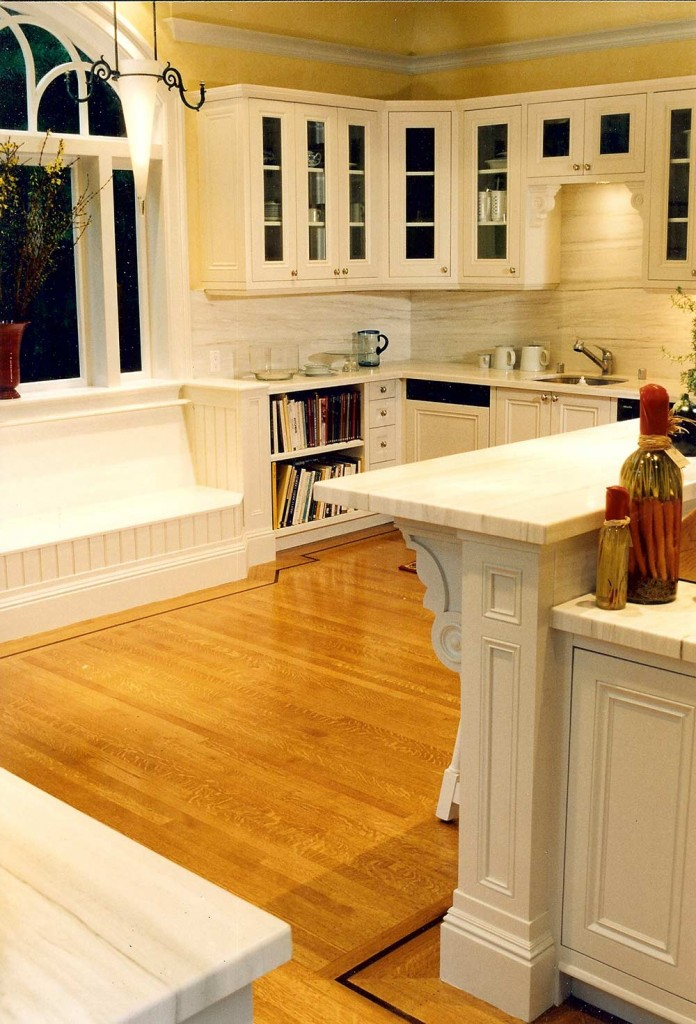 Traditional victorian kitchen design custom woodworking by Design in Wood, Andrew Jacobson, Petaluma, Ca