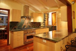 Custom wood kitchen cabinets in San Diego by Design in Wood, Andrew Jacobson, Petaluma, Ca
