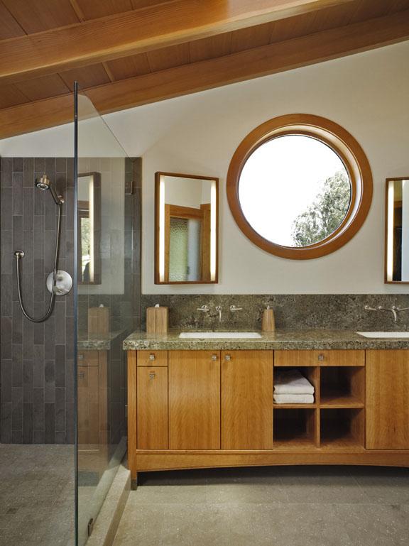 Custom Master Bath by Design in Wood, Petaluma, CA
