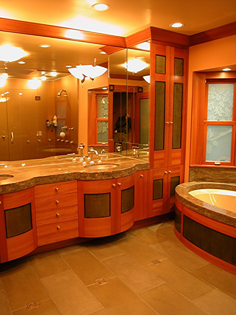 Custom Bath Cabinetry by Design in Wood, Petaluma, CA