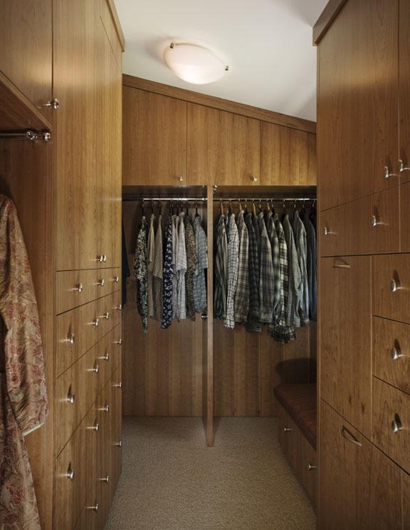 Custom Closet by Design in Wood, Andrew Jacobson, Petaluma, Ca