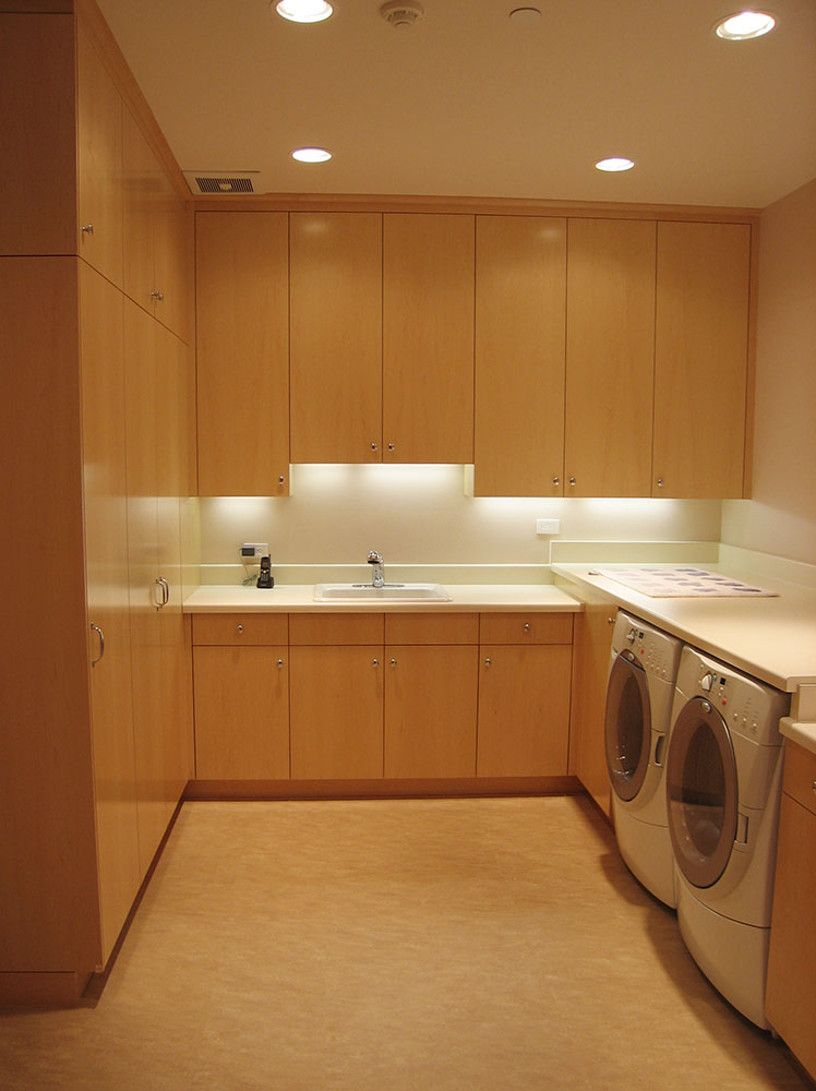 Laundry Room Cabinetry by Design in Wood, Petaluma, CA