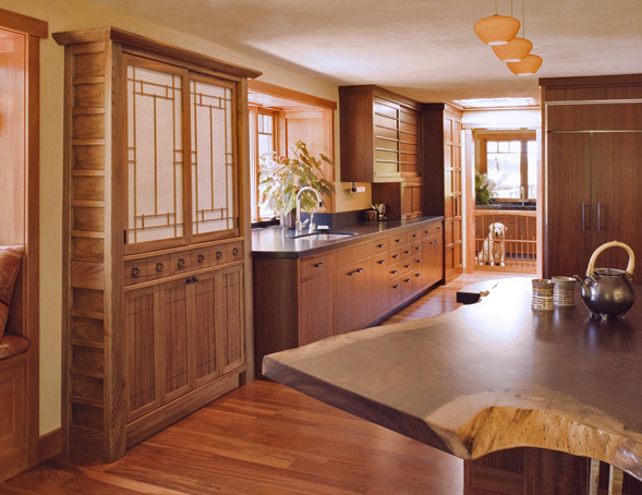 Showroom Kitchen by Design in Wood, Andrew Jacobson, Petaluma, Ca