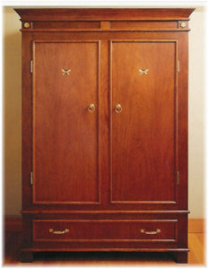 Inlaid Hutch by Design in Wood, Andrew Jacobson, Petaluma, Ca
