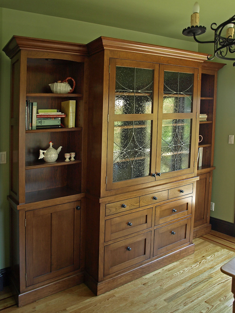 Arts and Crafts Hutch by Design in Wood, Andrew Jacobson, Petaluma, Ca