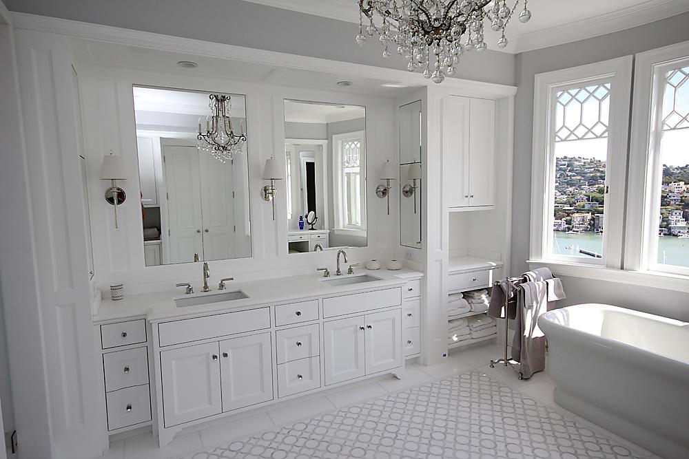 Belvedere Bath by Design in Wood, Andrew Jacobson, Petaluma, Ca