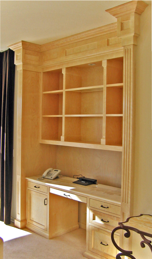 Belvedere Office by Design in Wood, Andrew Jacobson, Petaluma, Ca