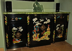 Chinoiserie Cabinet by Design in Wood, Andrew Jacobson, Petaluma, Ca