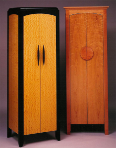 Highlight Gallery Stereo Cabinets by Design in Wood, Andrew Jacobson, Petaluma, Ca