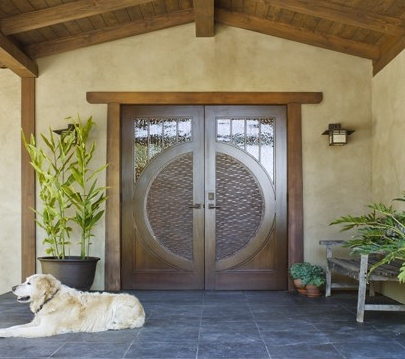Custom Entry Door by Design in Wood, Andrew Jacobson, Petaluma, Ca