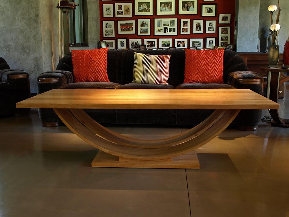Kentfield Coffee Table - custom woodwork by Design in Wood, Petaluma, CA. Andrew Jacobson - (707) 765-9885