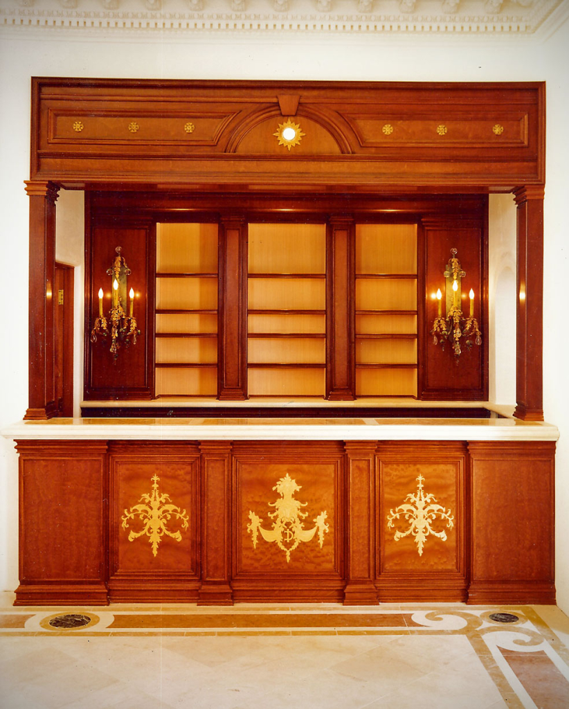 Malibu Bar - custom woodwork by Design in Wood, Petaluma, CA. Andrew Jacobson - (707) 765-9885