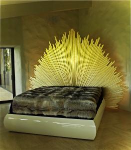 Napa Bed - custom woodwork by Design in Wood, Petaluma, CA. Andrew Jacobson - (707) 765-9885