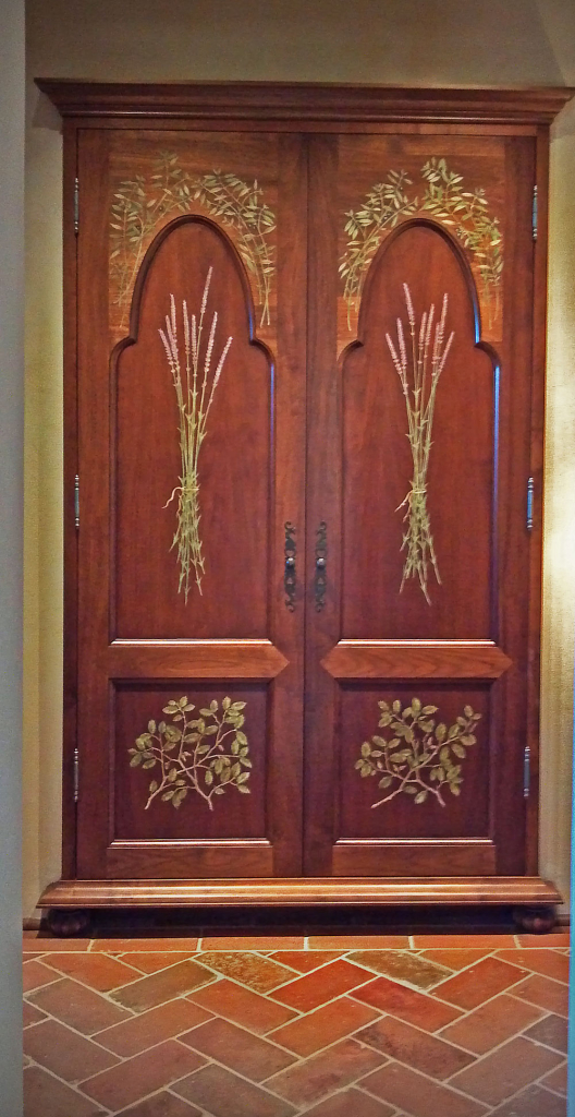 Painted Armoire by Design in Wood, Andrew Jacobson, Petaluma, Ca