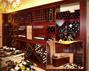 Traditional Wine Cellar by Design in Wood, Andrew Jacobson, Petaluma, Ca