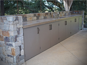 Wine Country Outdoor Kitchen - custom woodwork by Design in Wood, Petaluma, CA. Andrew Jacobson - (707) 765-9885