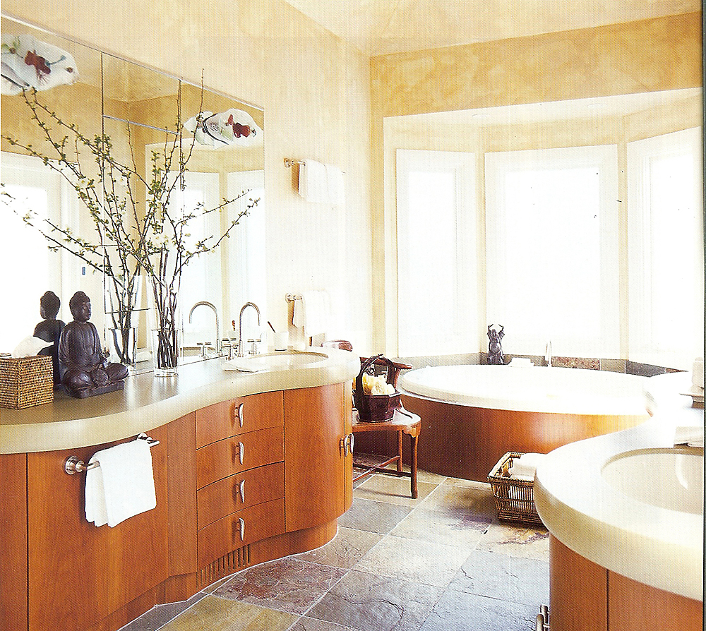 Custom Bath Cabinetry by Design in Wood, Petaluma, CA. Andrew Jacobson - (707) 765-9885