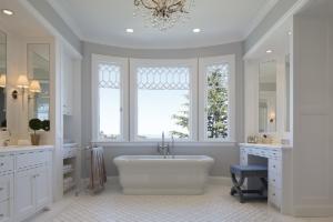 Custom Master Bath by Design in Wood, Andrew Jacobson, Petaluma, Ca