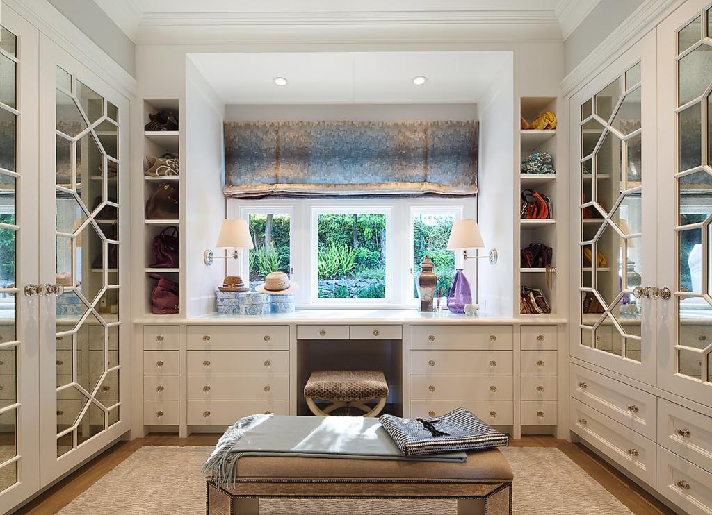 Belvedere Dressing Room by Design in Wood, Andrew Jacobson, Petaluma, Ca