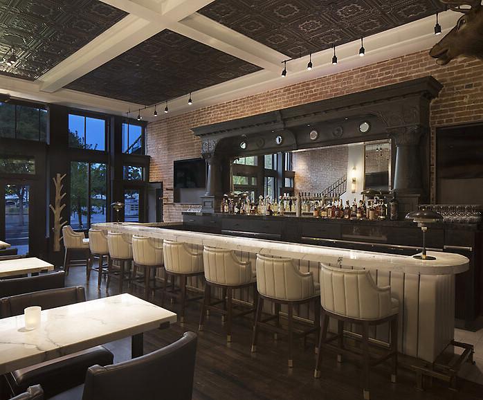 Custom Built Bar by Design in Wood, Andrew Jacobson, Petaluma, Ca