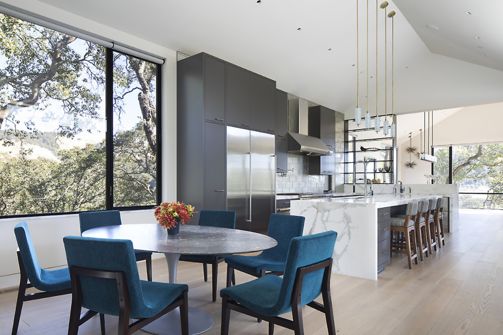 Contemporary wood kitchen by Design in Wood, Petaluma, CA