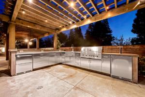 Custom Stainless Steel Kitchen by Design in Wood, Petaluma CA