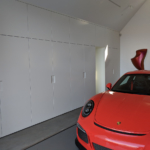 Half Moon Bay Garage Wall by Design in Wood, Sonoma County, California