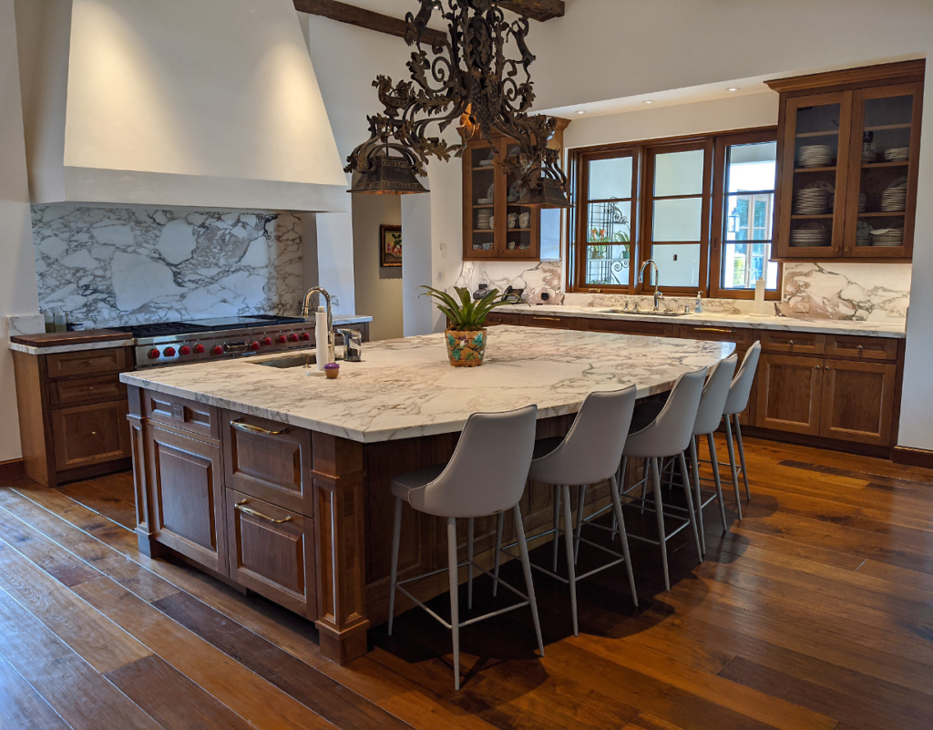 Custom Traditional Kitchen - by Design in Wood, Petaluma CA