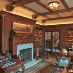 Custom Private Library Woodwork - By Design in Wood, Petaluma, CA