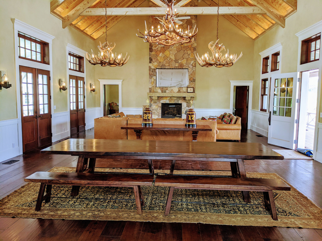 Custom Wood Dining Set by Design in Wood, Sonoma County, California
