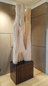 Photo of custom display stand by Design in Wood, Andrew Jacobson, Petaluma, Ca