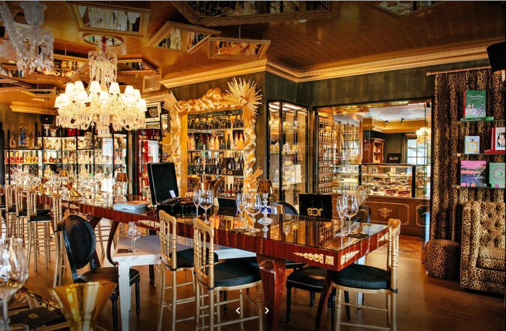 Photo of Custom Wine Tasting Room by Design in Wood, Petaluma, CA