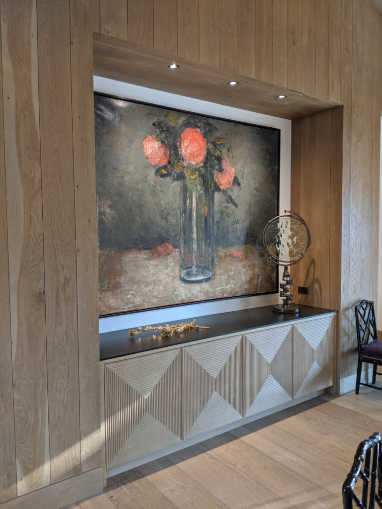 Custom Carved Credenza by Design in Wood, Petaluma, CA