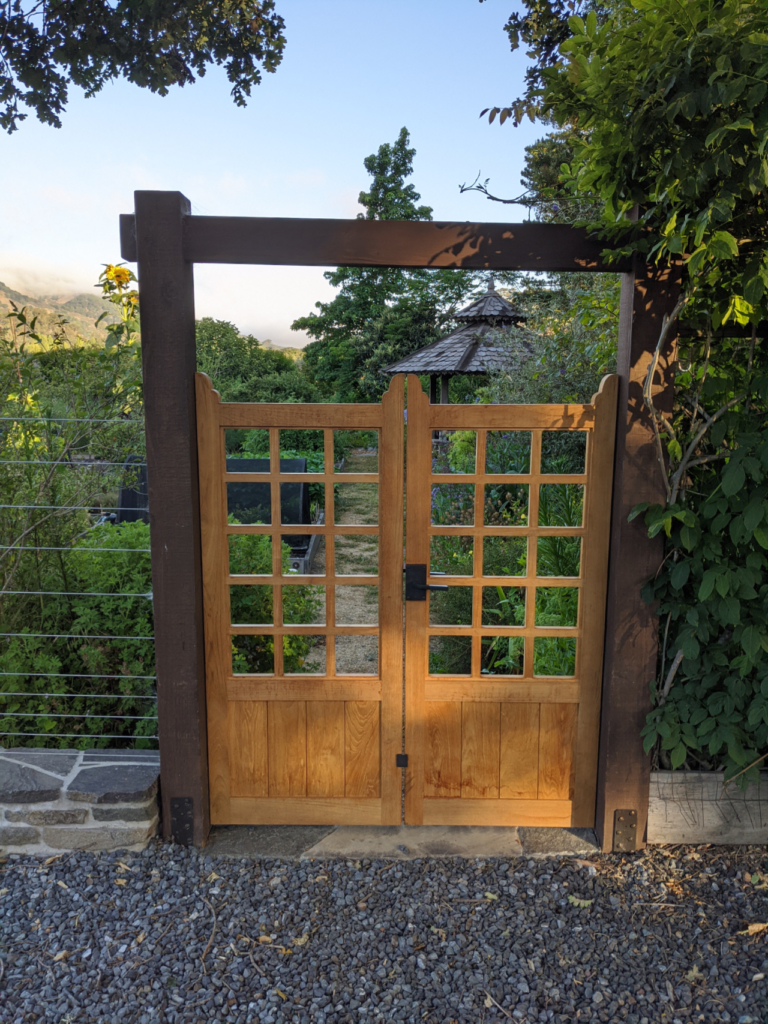Custom Wood Gates by Design in Wood, Andrew Jacobson