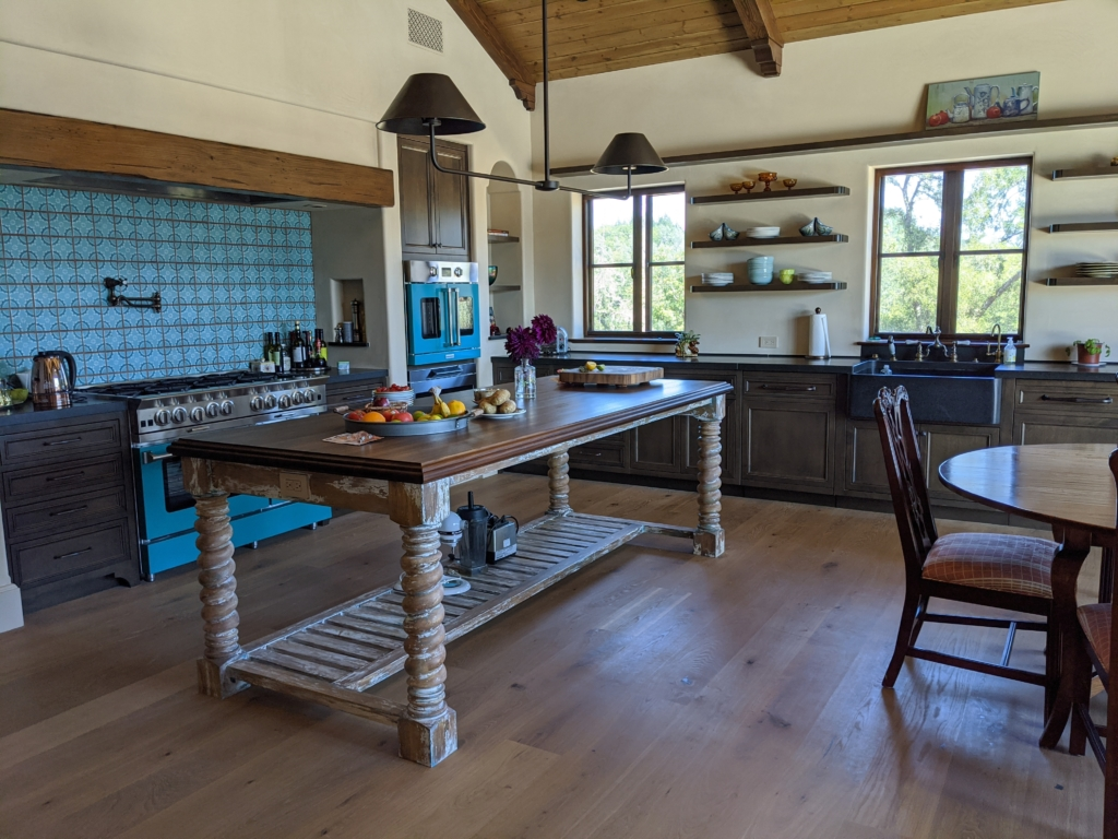 Custom woodwork kitchen by Design in Wood, Petaluma, CA