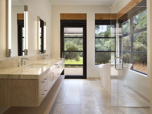 Custom Bath Vanity by Design in Wood, Andrew Jacobson