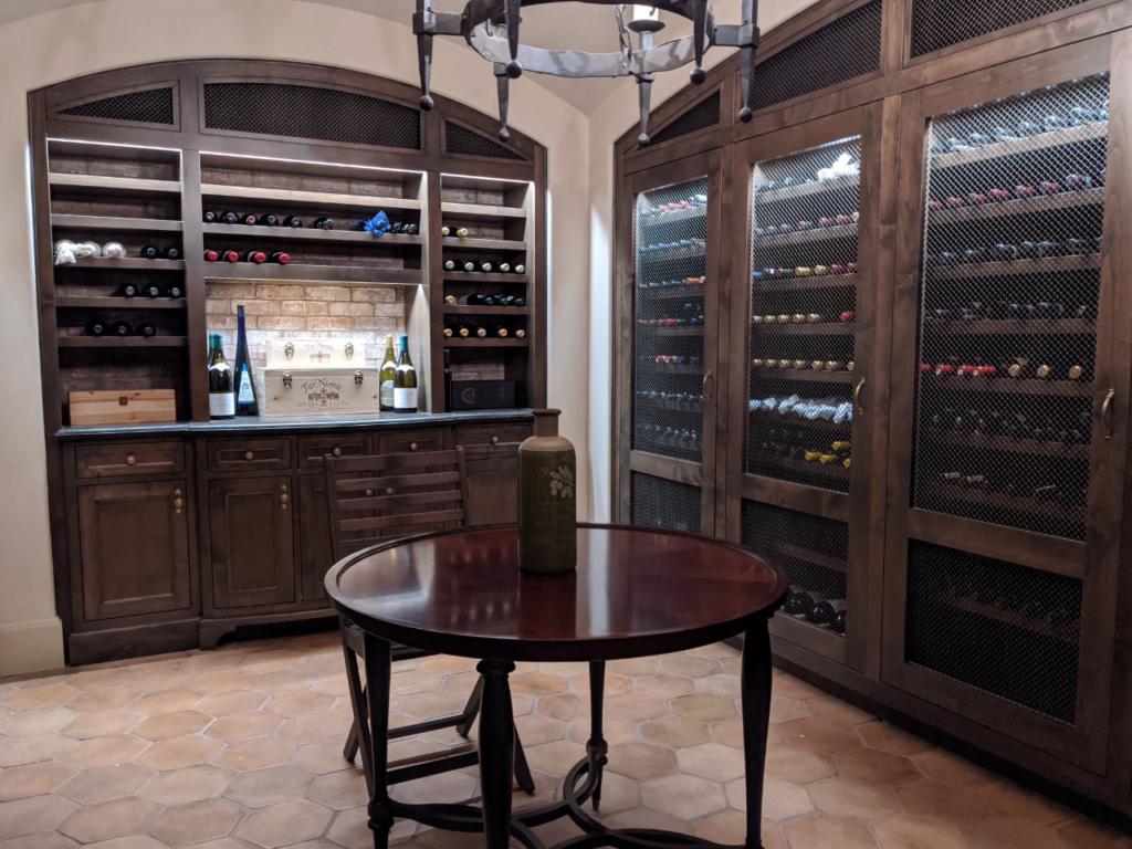 Custom Wine Cellar by Design in Wood, Petaluma, CA
